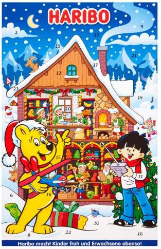 Haribo-candy-advent-calendar