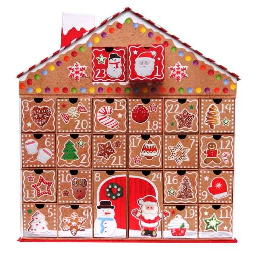 gingerbread reusable advent calendar