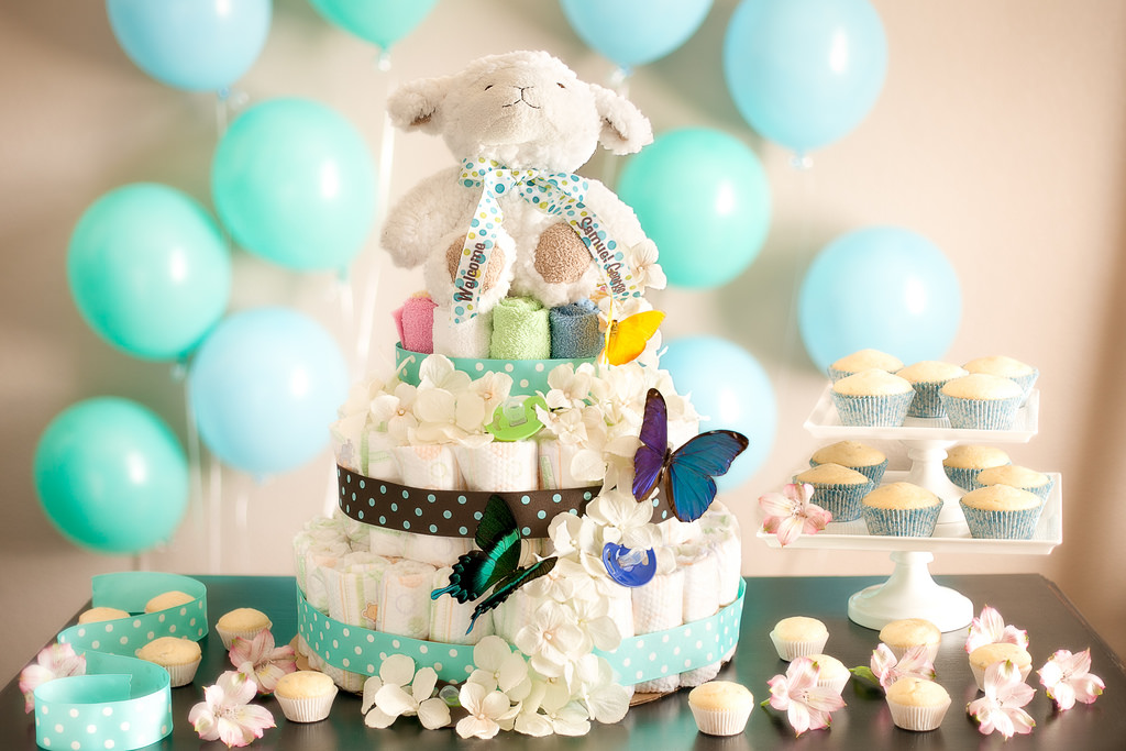 wishlist wishsimply gift giving parties baby shower diaper cake